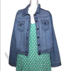 : Teal Polka Dot Dress